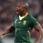 Makazole Mapimpi in action for South Africa